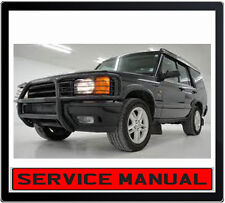LANDROVER DISCOVERY SERIES 1 1994-1999 SERVICE REPAIR MANUAL IN DVD