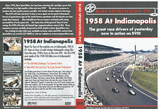 1958 Indy 500 - Jim Bryan, Foyt, Pat O'Connor on DVD!