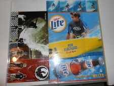 PAIR OF RON MACHADO SURFING STAR POSTERS, EARLY 2000S,LITE BEER,DRAGON ALLIANCE