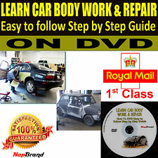 LEARN CAR BODY WORK & REPAIR Easy to follow Step by Step Guide on DVD video