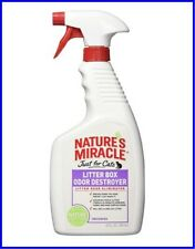 Just For Cats Nature's Miracle Litter Box Odor Destroyer Unscented Spray 24 oz.