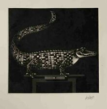 "MARIO AVATI ""NOAH'S ARK"" Original Etching Aquatint Signed by Artist"