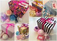 Bath Bomb Gift Sets - Luxury Wrapped Pamper Handmade Gifts - Christmas/Birthdays