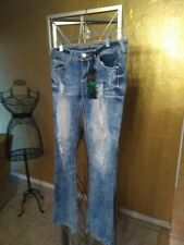 Almost Famous Distressed Jeans Size 9