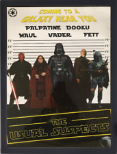 CLASSIC MOVIE ArtPrint STAR WARS Usual Suspects 420mm x 297mm Ltd Ed A3Print