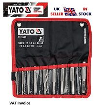 Yato Professional Punches Set For Leather Board Rubber Plastic 9 Piece YT-3590