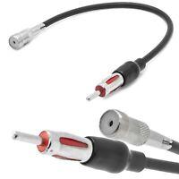 Auto Radio Antennen Adapter Verlängerung Kabel ISO Buchse auf DIN Stecker