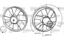 VALEO Ventilador, refrigeración del motor VOLKSWAGEN GOLF PASSAT POLO 698370