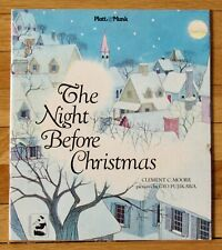 THE NIGHT BEFORE CHRISTMAS Gyo Fujikawa Clement Moore 1961 Platt & Munk VGC L1