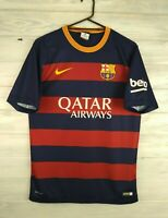 Barcelona jersey small 2015 2016 home shirt cheap version soccer football Nike