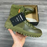 NIKE XARR LEATHER BOOTS MEDIUM OLIVE GREEN SHOES SIZE UK9 US10 EUR44 BQ5240-200