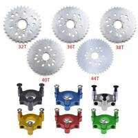 80cc Motorized Bike 415 Chain 32-44T Teeth Wheel Sprocket Colorful Adapter