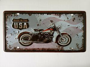 motorbike /cycle Tin Sign - Metal Plaque, Vintage Metal Wall Decor, Bar Pub Cafe