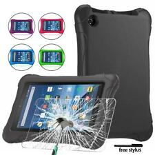 """For Amazon Fire 7"""" Tablet - EVA Kids Cover Case +Tempered Glass Screen Protector"""