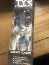 TYR Socket Rockets 2.0 Swim Swimming Goggles /Clear/Blue/Racing/Swimming