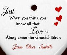Personalised Gifts for her Grandchildren Grandson Christmas stocking fillers Son