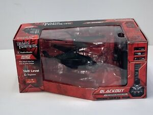 Transformers Blackout Infrared Helicopter RC Remote Radio Shack Movie 2007 New&