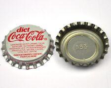 VINTAGE COCA COLA DIET COKE TAPPO BOTTIGLIA USA Soda bottiglia tappo