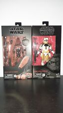 Clone Commander Bly And Heavy Battle Droid Bundle Black Series Star Wars Figures