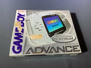 Nintendo Game Boy Advance Platine Système Neuf Scellé