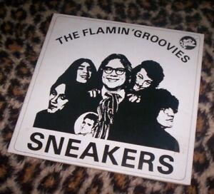 """FLAMIN' GROOVIES ~ SNEAKERS. Orig Fr 1975 vinyl 10"""". M-/VG."""