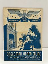 antique vintage eagle mail order book New York clothing fashion pictures ads War