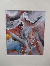 Bela Szilardi Bild Gemälde Budapest 20,5x17cm, 1989, signiert + Rahmen
