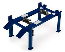 Adjustable Four Post Lift Blue 1 18 Scale Greenlight 12884