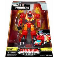 Transformers Titanium Rodimus Prime Die Cast Hasbro New In Box USA Seller HOT