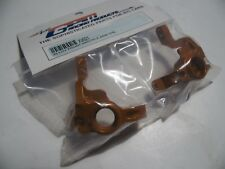 "Gpm Xv021 Alloy Front Knuckle Arm Set "" Gold"" Tamiya Xv01"