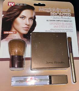 Magic Minerals Bronzer Jerome Alexander All Seasons Complete Makeup Set L