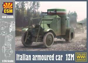 Copper State Models 1/35 ITALIAN ARMOURED CAR 1ZM