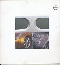 CATALOGUE VOITURE PUB. AUTO AD.CAR NISSAN X-TRAIL Z ET CHAPPO EN TROIS LANGUES