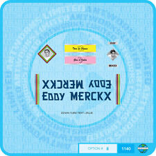 Eddy Merckx Bicycle Decals Transfers - Stickers - Set 8