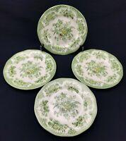"Set of 4 Enoch Wedgwood KENT Tunstall England 6-7/8"" Salad Dessert Pie Plates"