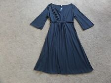 Old Navy Cotton Blend 3/4 Sleeve Solid Dresses for Women