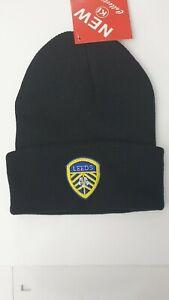 Leeds United 100/% Beanie M/ütze Navy
