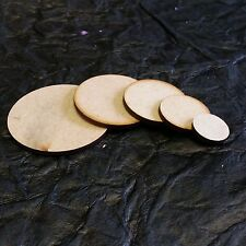 Wooden MDF Circle Shape 3mm MDF, Craft, Tags, disc, Decoration, Card Making