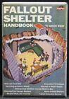 Vintage Fallout Shelter Handbook Book Cover 2' X 3' Fridge / Locker Magnet.