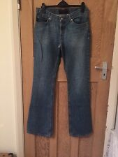 "Juicy Couture Jeans Wash Blue Boot cut Size W29"" L34"" *C1"