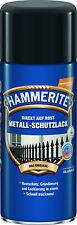 Hammerite Spray-Dose Sprühdose Metall-Schutzlack glänzend silber 400 ml Lack Neu