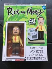 Rick and Morty 'Ants in my eyes Johnson' 40 pc Construction Set BRAND NEW IN BOX