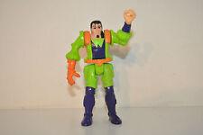 "VINTAGE JAMES BOND JR. 5"" ACTION FIGURE, Hasbro 1990 Dr Derange 007 Rare"