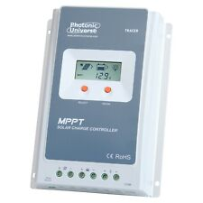 40A MPPT solar charge controller with LCD screen for 12V/ 24V systems up to 100V