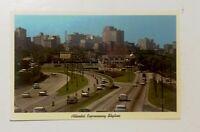 Vintage Postcard : Atlanta Skyline (60s?)
