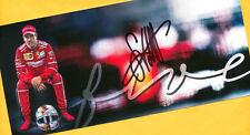 Sebastian VETTEL - SUPER AK Bild (36) FERRARI + 2 AK F1 - signiert - signed