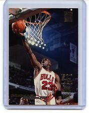 MICHAEL JORDAN 1993 STADIUM CLUB BASKETBALL TRIPLE DOUBLE CARD #1 BULLS NICE!