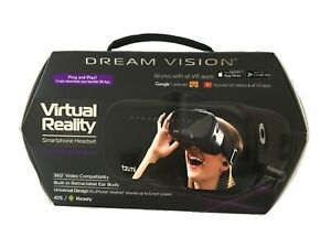 Tzumi Dream Vision VR Smartphone Headset Virtual Reality  Smartphone- Black
