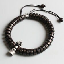 Tibetan Buddhism Charm Natural Coconut shell beads hand maid luck friendship