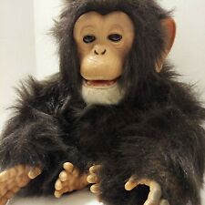 Tiger 2005 FurReal Friends Cuddle Chimp Chimpanzee Interactive Plush Monkey